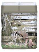 Ground Hog Day Duvet Cover