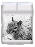 Ground Squirrel With Sandy Nose Duvet Cover