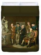 Group Of Connoisseurs Duvet Cover