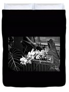 Group Of Flowers Duvet Cover