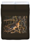 Grouse In A Tree Duvet Cover