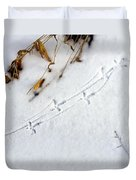 Grouse Tracks Duvet Cover
