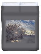 Grove And Road - Winter Duvet Cover
