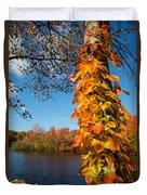 Growing Colors Duvet Cover