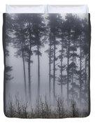 Growing In The Fog Duvet Cover