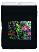Growing Together In Love Duvet Cover