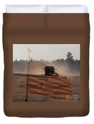 Grown In America Duvet Cover