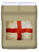 Grunge England Flag Duvet Cover