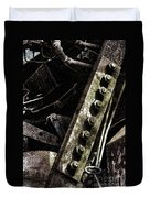 Grunge Industrial Machinery Duvet Cover