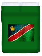 Grunge Namibia Flag Duvet Cover