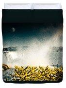 Grunge Niagara Duvet Cover