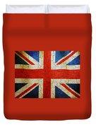 Grunge Union Flag Duvet Cover