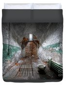 Grungy Prison Cell Duvet Cover