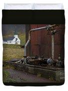 Grytviken, South Georgia Duvet Cover