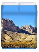 Guadalupe Peaks Duvet Cover