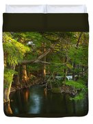Guadalupe River 2am-115627 Duvet Cover