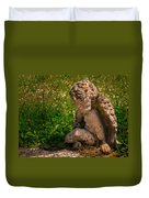 Guardian Angel Duvet Cover by Jean Noren