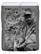 Guardian Of The Mountain Gorillas Duvet Cover