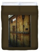 Guatemala Door 2 Duvet Cover