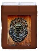 Guatemala Door Decor 1 Duvet Cover