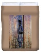 Guatemala Door Decor 4 Duvet Cover
