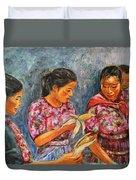 Guatemala Impression IIi Duvet Cover