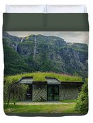 Gudvangen Norway Style Sunroof Duvet Cover
