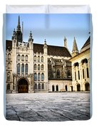 Guildhall Building And Art Gallery Duvet Cover by Elena Elisseeva