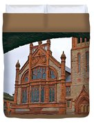 Guildhall In Londonderry Northern Ireland Duvet Cover