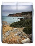 Guincho Cliffs Duvet Cover