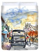 Guinness Delivery In Howth Duvet Cover