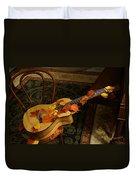 Guitar Autumn 1 Duvet Cover