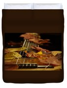 Guitar Autumn 2 Duvet Cover
