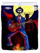 Guitar Man Upstairs Duvet Cover