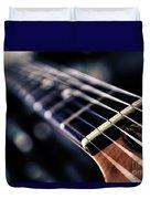Guitar Strings Duvet Cover by Stelios Kleanthous