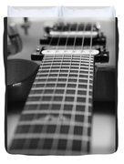 Guitar View Duvet Cover