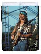 Guitarist Dickie Betts Duvet Cover