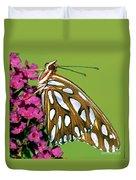 Gulf Fritillary Butterfly Agraulis Duvet Cover