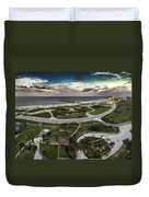 Gulf State Park And Pier Duvet Cover