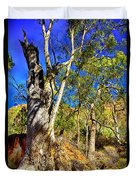 Gum Tree Ridge Duvet Cover