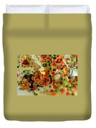 Gumdrops N Ginger Bread  Duvet Cover