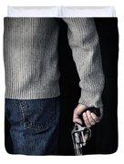 Gun Duvet Cover by Edward Fielding