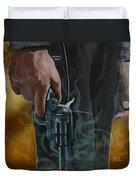 Gunfighter Duvet Cover