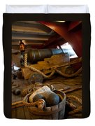 Gunnery Port Duvet Cover