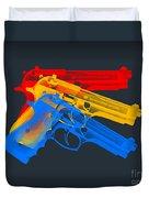 Guns Duvet Cover