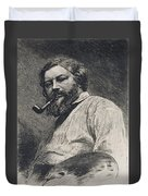 Gustave Courbet Duvet Cover