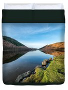 Gwydyr Forest Lake Duvet Cover by Adrian Evans
