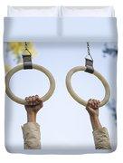 Gymnastic Rings Duvet Cover