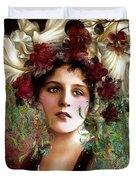 Gypsy Girl Of Autumn Vintage Duvet Cover