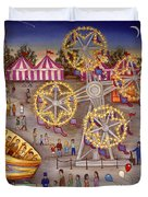 Gyro At The Carnival Duvet Cover
